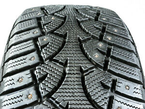 General Altimax Arctic Studded 215 55r17 94q Used Winter Tire 10 11 32 211319