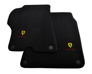 Floor Mats For Ferrari California Convertible 2008 2014 Black Tailored Carpets