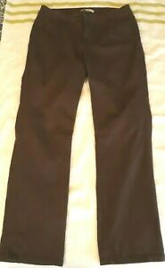 VG COND! Lee Classic Fit Brown Straight Leg Jeans Size 14 Medium 5 Pocket