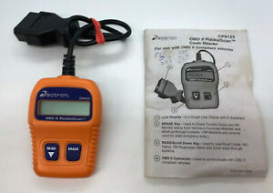 Actron Cp9125 Obdii Obd2 Pocketscan Code Reader Car Scanner Diagnostic Tool