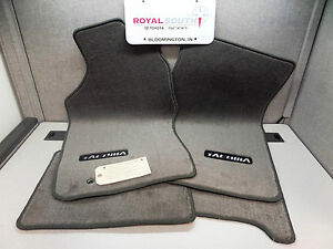 Toyota Tacoma Xtracab Light Charcoal Carpet Floor Mats Genuine Oem Oe
