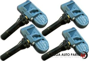 4 X New Itm Tire Pressure Sensor Dual Frequency 8016d Tpms For Saturn Vue 07 10