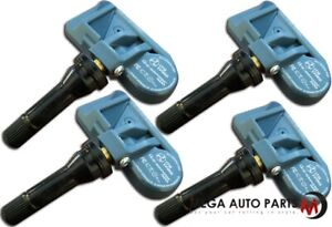 4 X New Itm Tire Pressure Sensor Dual Mhz 8016d Tpms For Ford Expedition 05 06
