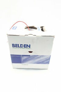 Belden 88760 002 High Temperature Electronic Red Wire 2c 18awg 500ft