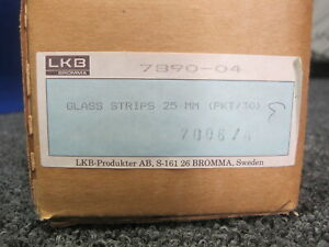 Lkb Glass Strip Knife 6 4 X 25 4 X 400 Mm Ultramicrotome Qty 30 7890 04 25mm