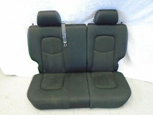 10 Chevy Hhr Ss Rear Seat Left Right Middle Bench 2010