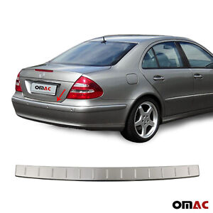 Fits Mercedes E Class W211 Sedan 2003 09 Rear Bumper Guard Trunk Sill Protector