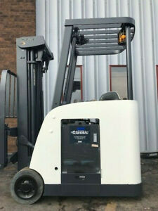 2007 Crown Counterbalanced Electric Standup 3000lb Forklift