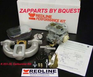 Mg Mga Mgb Redline K 051 38 Carburetor Kit Dges 38 Weber