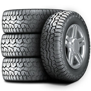 4 New Armstrong Tru trac At 225 65r17 102h A t All Terrain Tires