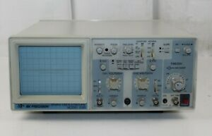 B k Precision 2120 20mhz Dual Trace Portable Two Channel Oscilloscope sold As Is