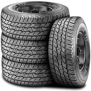 4 New Maxxis Bravo At 771 Lt 285 65r18 Load E 10 Ply A T All Terrain Tires