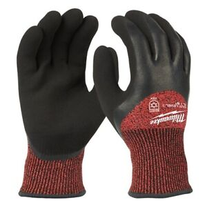 Milwaukee 48 22 8921 Cut Level 3 Insulated Winter Work Gloves Medium In Stock