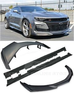 Eos For 19 up Camaro Zl1 Front Lip Splitter Side Skirts Zl1 1le Rear Spolier