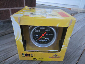 New Auto Meter 5425 Pro comp Liquid Filled Pressure Press Gauge Free Ship