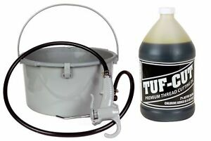 Toledo Pipe 418 Oiler 10883 1 Gallon Tuf cut Dark Oil Fits Ridgid 300 700 12r