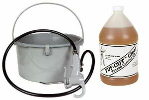 Toledo Pipe 418 Oiler 10883 1 Gallon Tuf cut Clear Oil Fits Ridgid 300 700 12r