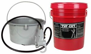 Toledo Pipe 418 Oiler 10883 5 Gallon Tuf cut Dark Oil Fits Ridgid 300 700 12r