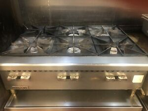 Vulcan 6 Gas Burner Table Top Range