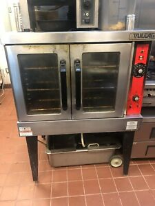 Vulcan Double Door Full Size Electric Stand Alone Convection Oven Works Great