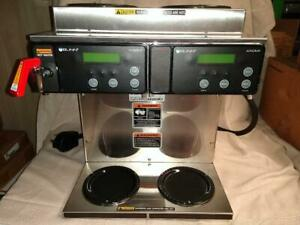 Bunn Axiom Twin Commercial Coffee Maker Lightly Used Restaurant coffee Shop