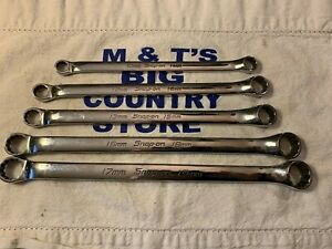 Snap On Tools Usa 5pc Metric Standard 10 Offset Wrench Set Xbm605a