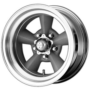 American Racing Vn309 Torq Thrust 17x8 5x5 5 0mm Silver Wheel Rim 17 Inch