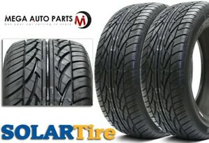 2 New Solar 4xs 225 45 17 91h Bsw All Season Traction Performance Tires