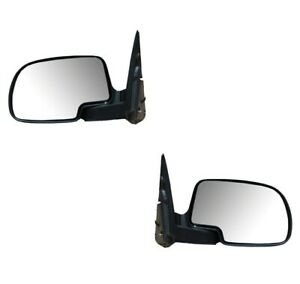 Mirrors For Chevy Silverado Sierra Avalanche 2003 2006 Pair Without Turn Signal