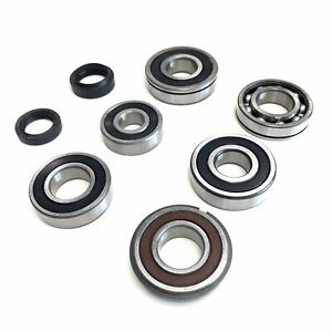 8 Pc Transmission Roller Bearing Oil Seal Set Suzuki Samurai 86 88