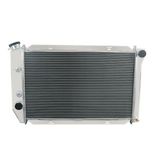 3 Rows Aluminum Radiator Fit 1971 1973 1972 Ford Mustang V8 At Mt W Cooler