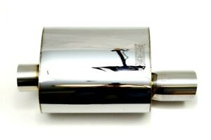 1320 Perf Fab 3 Inch Stainless Steel Street High Performance Muffler Small