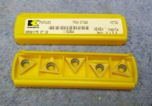 Kennametal Carbide Inserts Tpgm 3252 Grade Kc730 Pack Of 5