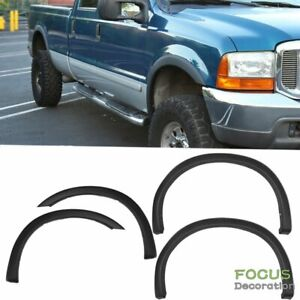 Fender Flares 4pc Smooth Texture For 99 07 Ford F250 F350 Oe Style