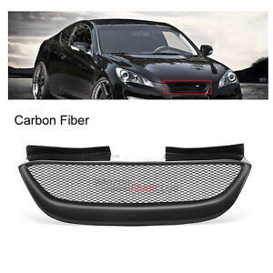 For Hyundai Genesis Coupe 2009 2010 2011 2012 Front Grill Grille Carbon Fiber