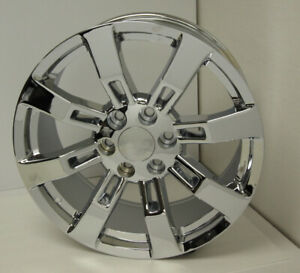 22 Chrome 8 Spoke Wheels Rims Fits 2000 18 Gmc Yukon Cadillac Escalade