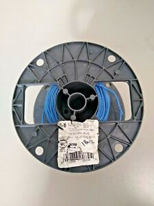 Building Wire 500ft Spool 18awg Tffn mtw awm Blue