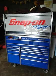 Snap on Tool Box Top Riser Snapon Racing Hutch Armor Edge Cart Snap On For Tools