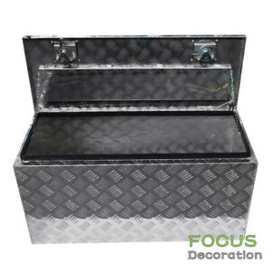 36 Aluminum Truck Underbody Tool Box Trailer Rv Tool Storage Under Bed W Lock