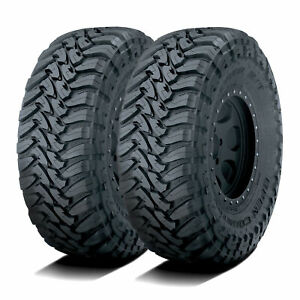 2 New Toyo Open Country M t Lt 33x12 50r20 119q F 12 Ply Mt Mud Tires
