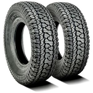 2 New Kumho Road Venture At51 Lt 215 75r15 Load D 8 Ply A t All Terrain Tires