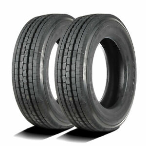 2 New Goodyear G647 Rss 245 70r19 5 Load G 14 Ply Commercial Tires