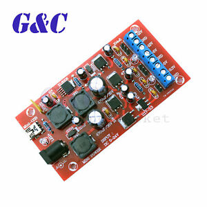 Usb Boost Dc 5 24v To Dual Power Regulator Module For Dds Signal Generator New