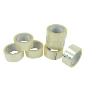 36 Roll Clear Carton Sealing Packing Shipping Tape 2 2 0mil 110yard 330ft