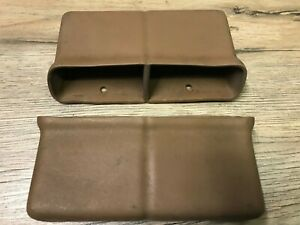 1970 71 72 Chevelle Malibu Ss Used Gm Console Seat Belt Pocket Set tan Oem