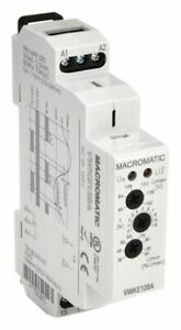 Macromatic Voltage Sensing Relay 120vac 15a 240v 5 Pins Mounting Din