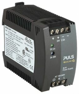Puls Dc Power Supply Style Switching Mounting Din Rail Ml60 241 Ml60 241
