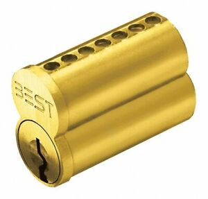 Best Interchangeable Core 7 Pins A Keyway Solid Brass 1c7a1606 1c7a1606 1