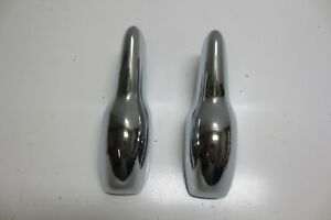 1953 Chevy Bumper Guards Trim Molding Front Or Rear Restored Pair Original Show