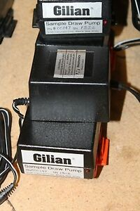 Gilian Sample Draw Pump 800147 With Power Supply